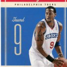 2010 Classic Basketball Card #64 Andre Iguodala