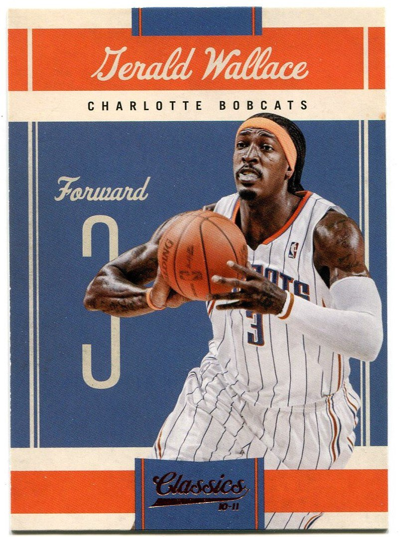 2010 Classic Basketball Card #90 Gerald Wallace