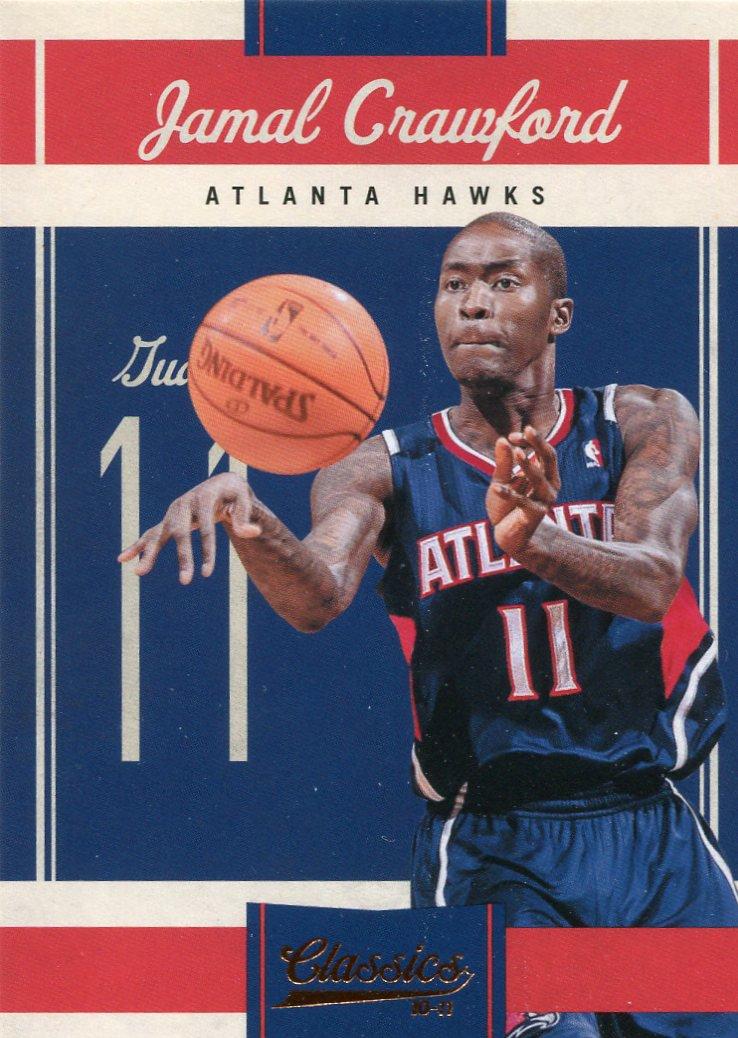 2010 Classic Basketball Card #91 Jamal Crawford