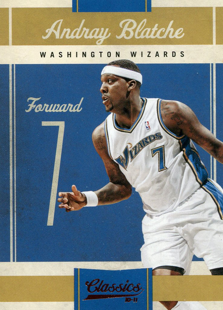 2010 Classic Basketball Card #99 Andray Blatche
