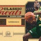 2010 Classic Basketball Card Greats #15 Shawn Kemp