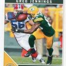 2011 Score Football Card #107 Greg Jennings