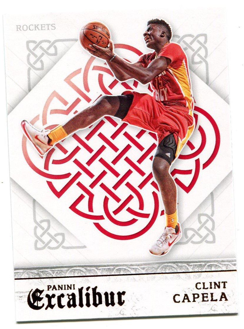 2015 Excalibur Basketball Card #145 Clint Capela