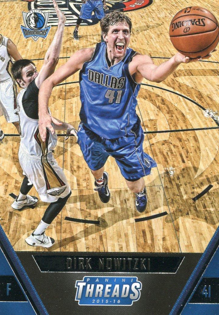 2015 Threads Basketball Card #144 Dirk Nowitzki
