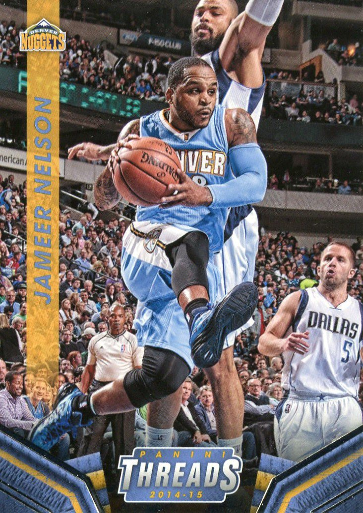 2014 Threads Basketball Card #77 Jameer Nelson