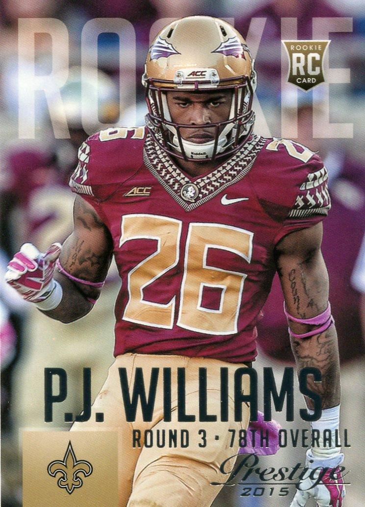 2015 Prestige Football Card #275 P J Williams