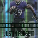2015 Prestige Football Card Extra Points Green #60 Justin Forsett