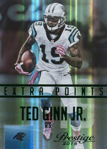 2015 Prestige Football Card Extra Points Green #140 Ted Ginn Jr