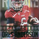 2015 Prestige Football Card Extra Points Green #234 Dres Anderson