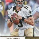 2012 Absolute Football Card #63 Drew Brees