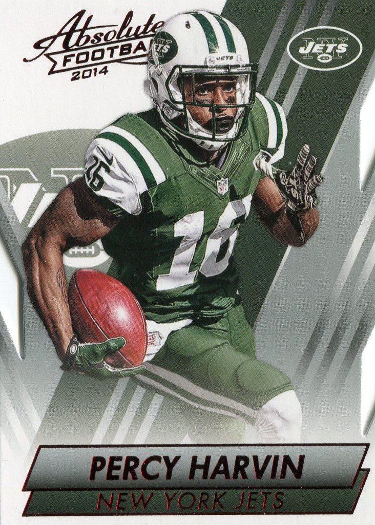 2014 Absolute Football Card Red #70 Percy Harvin