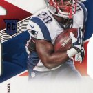2014 Absolute Football Card Red #158 James White
