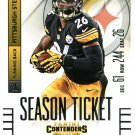 2014 Panini Contenders Football Card #89 LeVeon Bell
