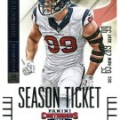 2014 Panini Contenders Football Card #94 J J Watt