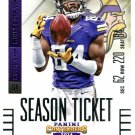 2014 Panini Contenders Football Card #99 Cordarrelle Patterson