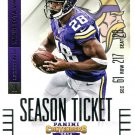 2014 Panini Contenders Football Card #100 Adrian Peterson