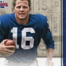 2014 Panini Contenders Football Card Legendary Contenders #8 Frank Gifford