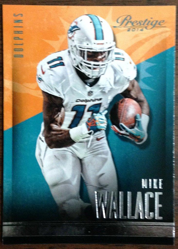 2014 Prestige Football Card #8 Mike Wallace