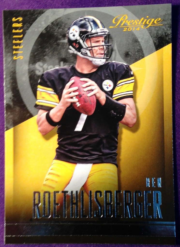2014 Prestige Football Card #45 Ben Roethlisberger