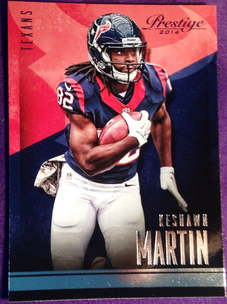 2014 Prestige Football Card #55 Kesahawn Martin