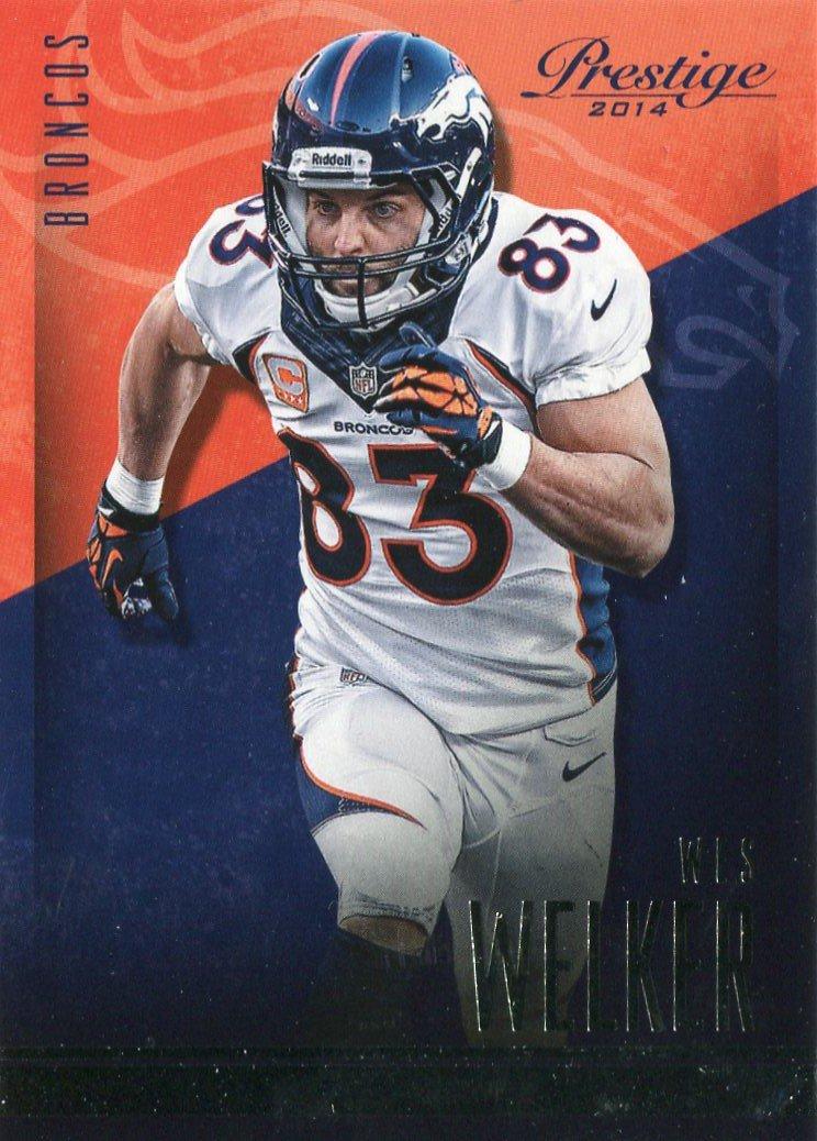 2014 Prestige Football Card #79 Wes Welker