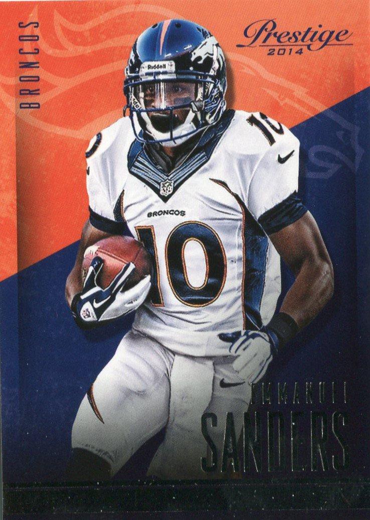2014 Prestige Football Card #80 Emanuel Sanders
