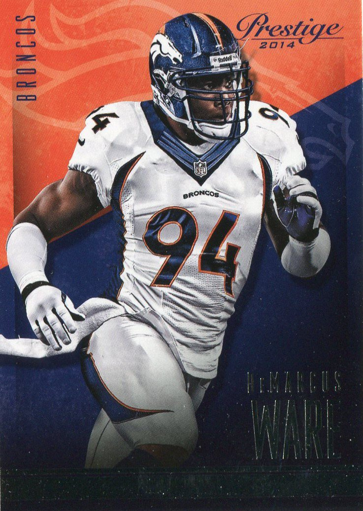 2014 Prestige Football Card #81 DeMarcus Ware