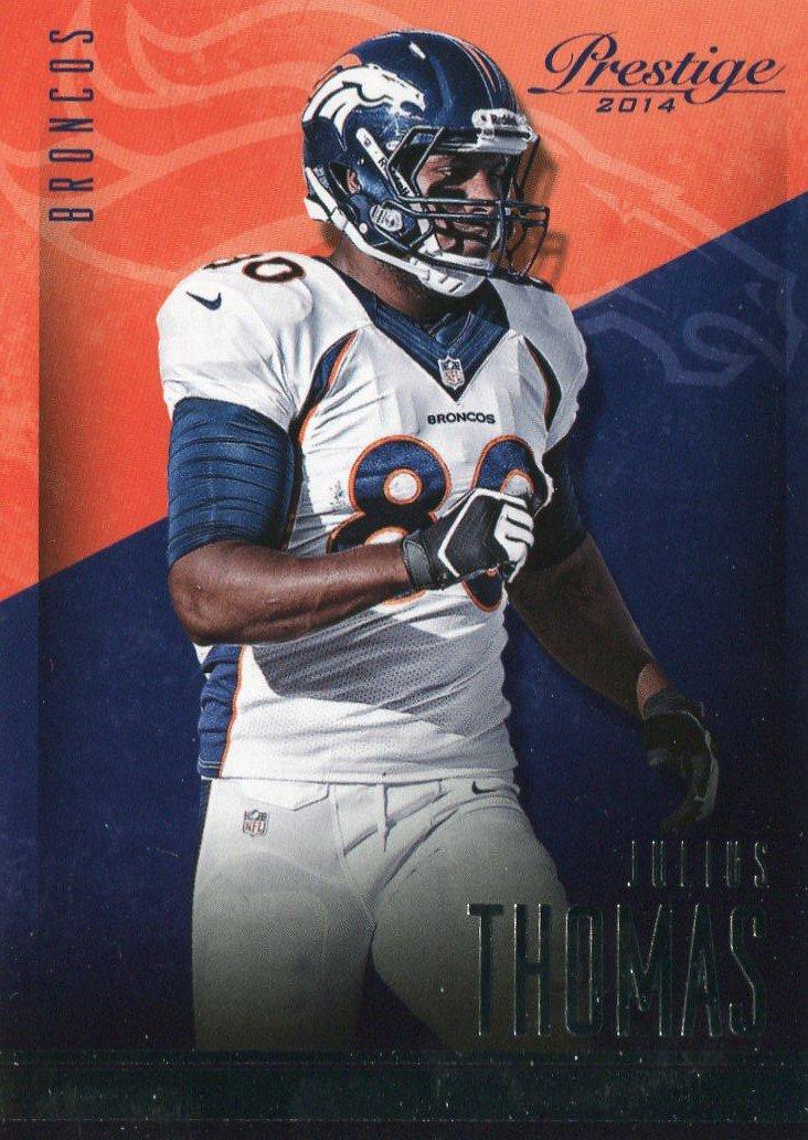 2014 Prestige Football Card #83 Julius Thomas