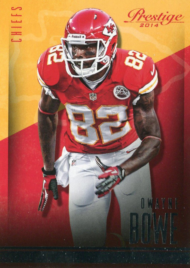2014 Prestige Football Card #86 Dewayne Bowe