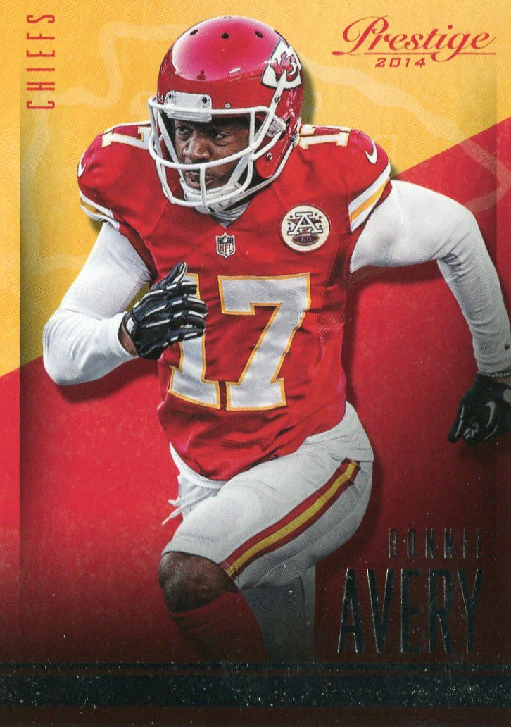 2014 Prestige Football Card #87 Donnie Avery
