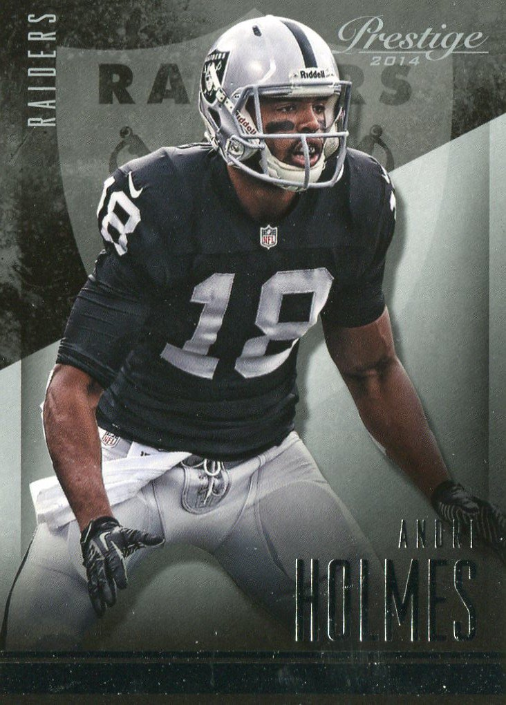 2014 Prestige Football Card #93 Andre Holmes