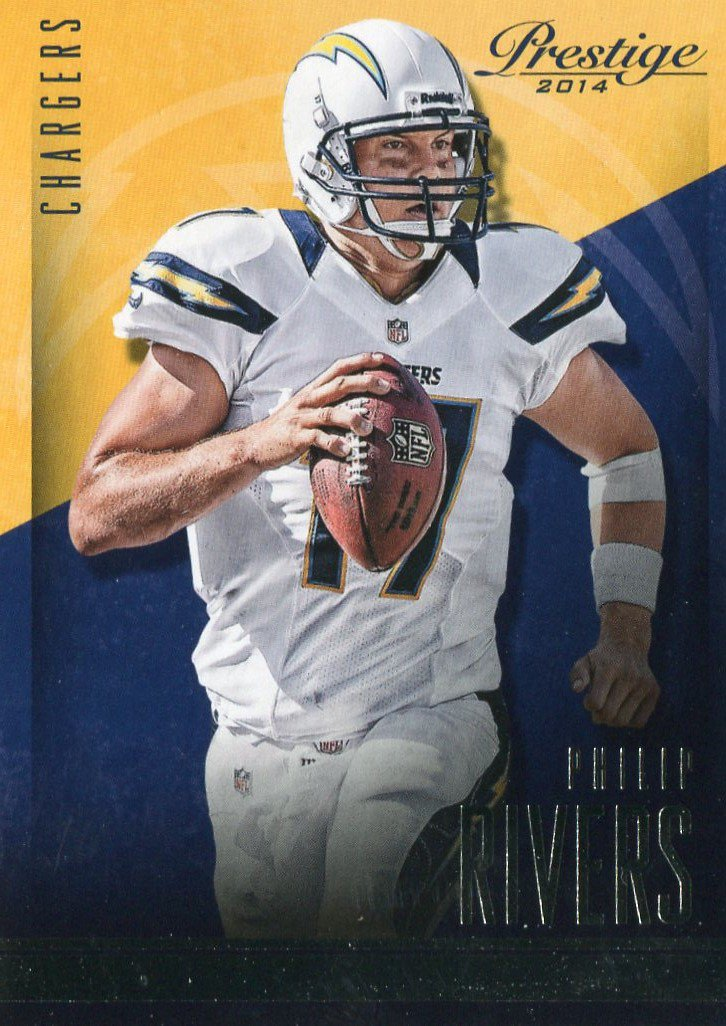2014 Prestige Football Card #97 Phillip Rivers