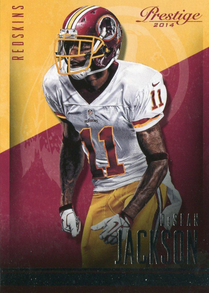 2014 Prestige Football Card #125 DeSean Jackson