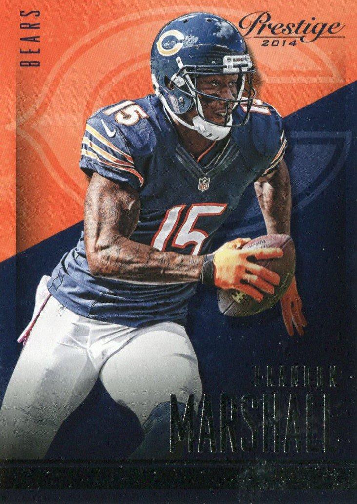 2014 Prestige Football Card #127 Brandon Marshall