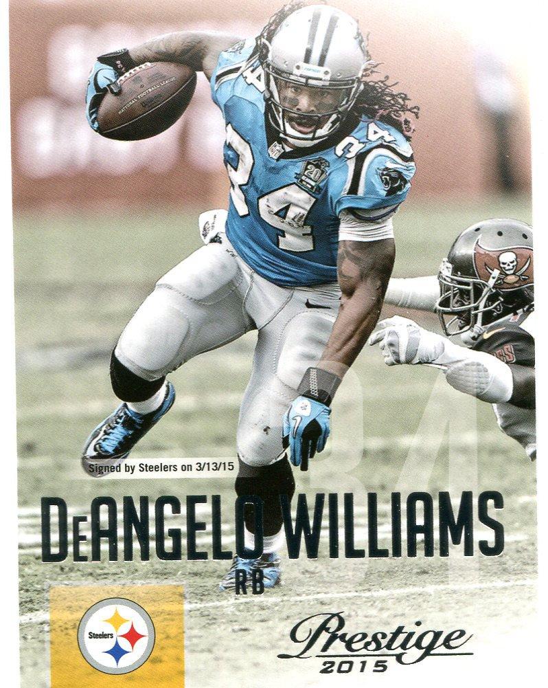 2015 Prestige Football Card #80 DeAngelo Williams
