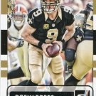 2015 Donruss Football Card #27 Drew Brees