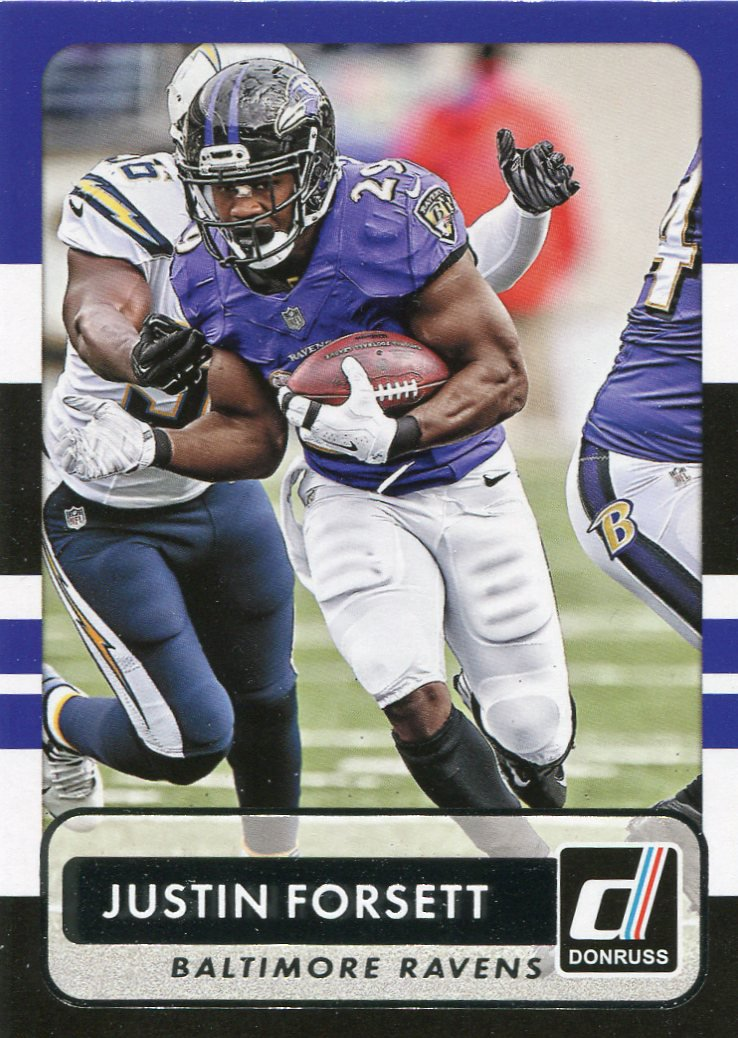 2015 Donruss Football Card #57 Justin Forsett