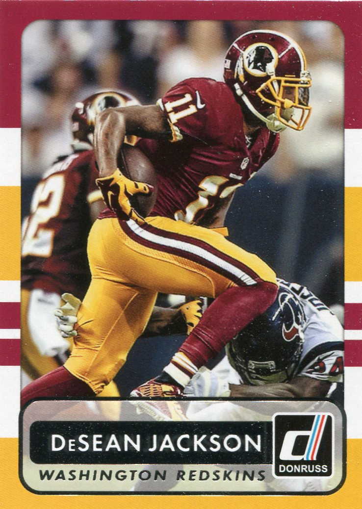 2015 Donruss Football Card #90 DeSean Jackson