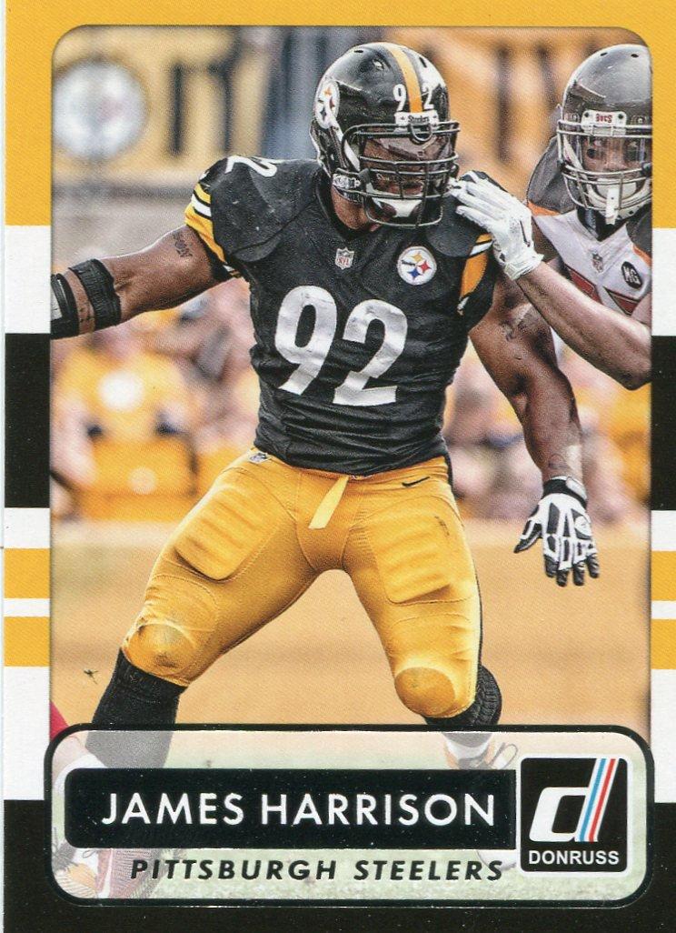 2015 Donruss Football Card #157 James Harrison