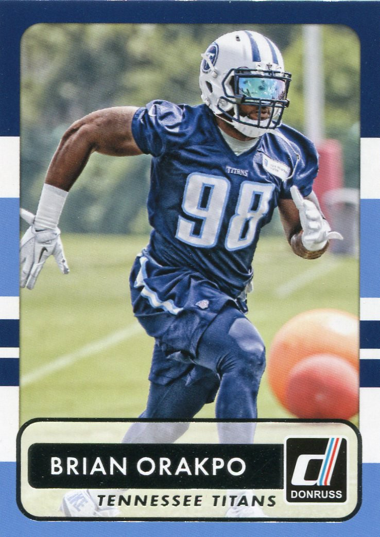 2015 Donruss Football Card #159 Brian Orakpo