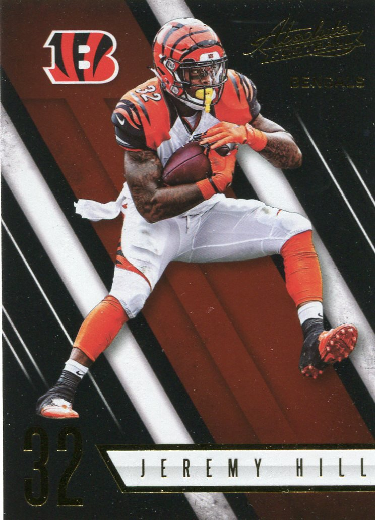 2016 Absolute Football Card #22 Jeremy Hill