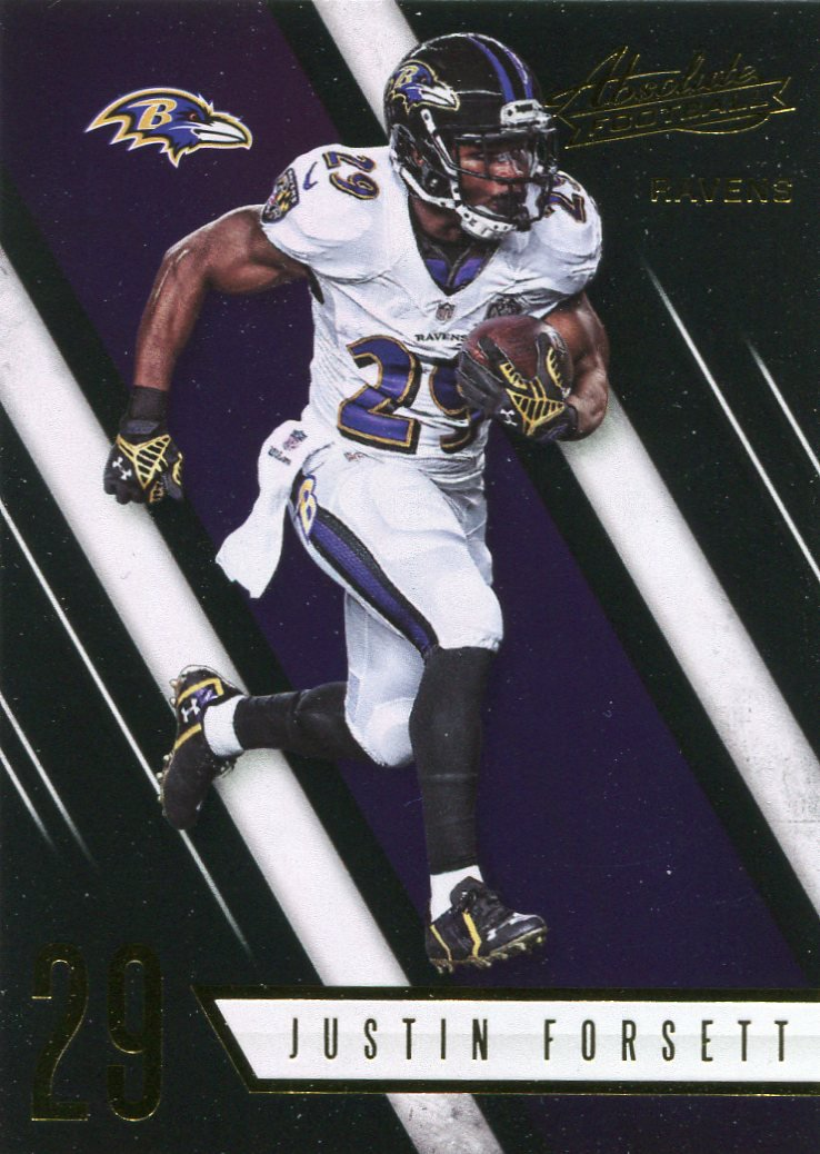 2016 Absolute Football Card #25 Justin Forsett