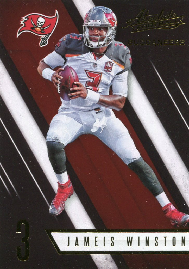 2016 Absolute Football Card #51 Jamis Winston
