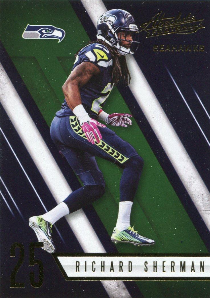 2016 Absolute Football Card #79 Richard Sherman