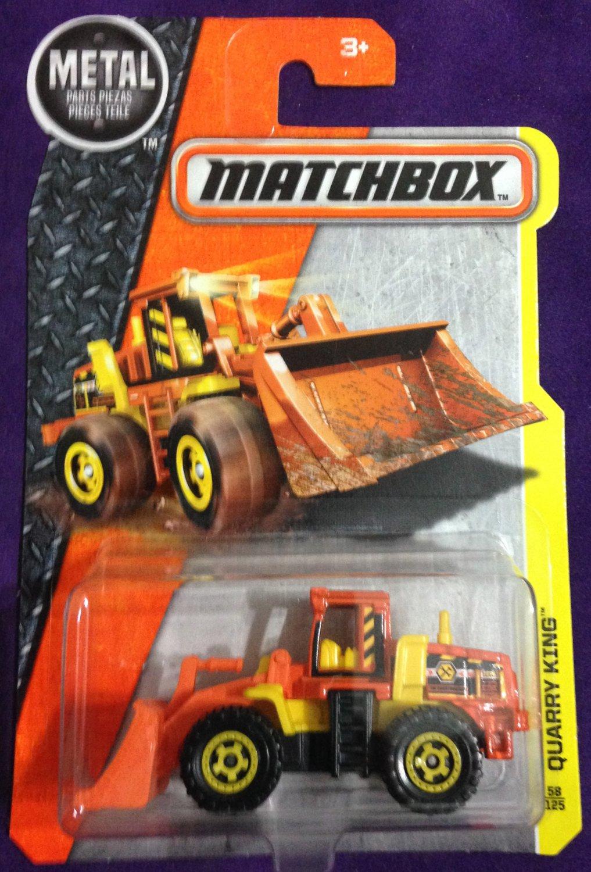 2017 Matchbox #58 Quarry King
