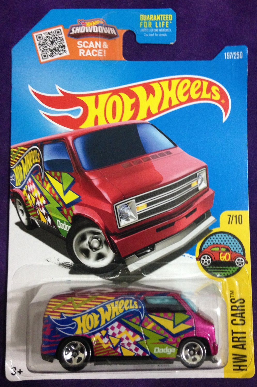 2016 Hot Wheels #197 Custom 77 Dodge Van