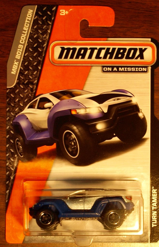 2013 Matchbox #38 Turn Tamer