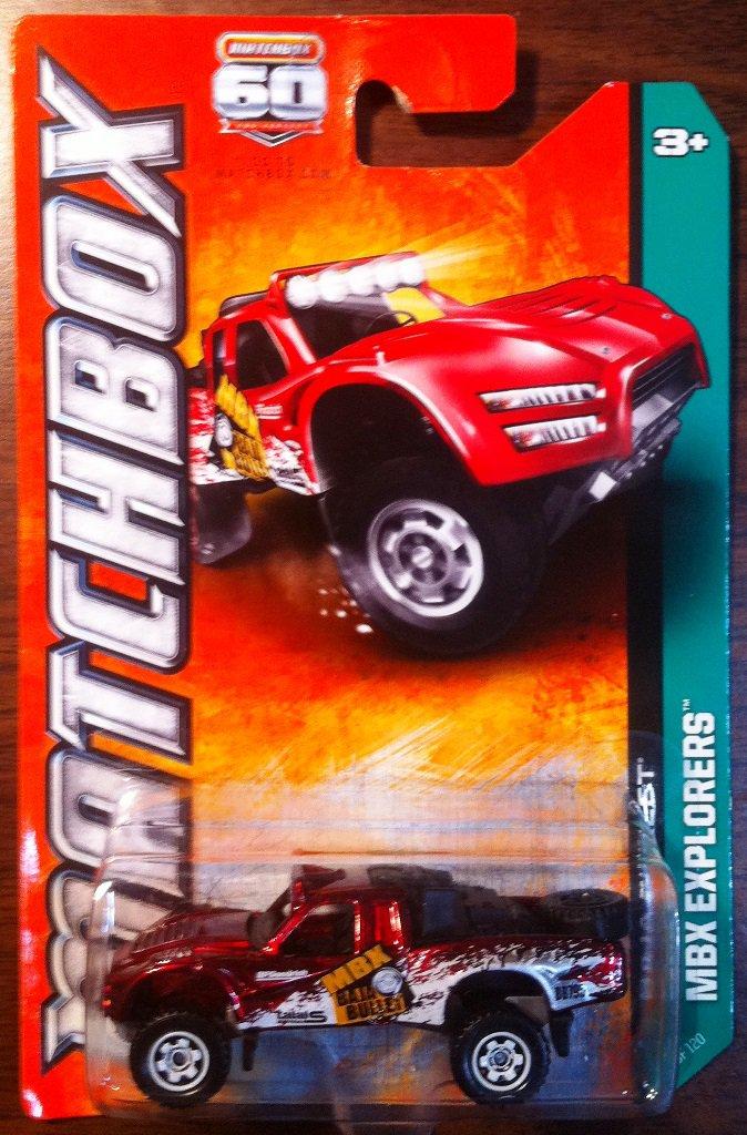 2013 Matchbox #60 Baja Bullet