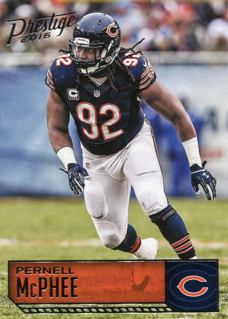 2016 Prestige Football Card #37 Pernell McPhee