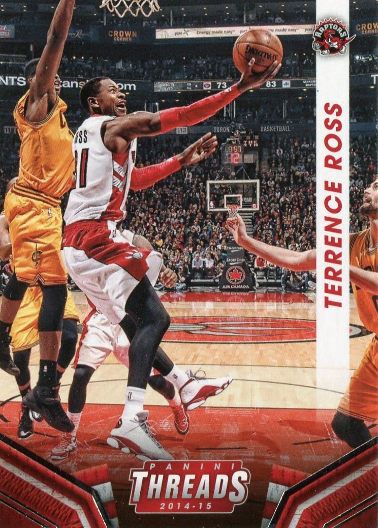 2014 Threads Basketball Card #177 Terrence Ross